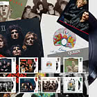Pre-Order Music Giants IV - Queen - Album Cover Fan Sheet