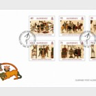 Final Panel of the Bayeux Tapestry- (FDC Set)