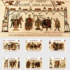 Final Panel of the Bayeux Tapestry- (PP Set)