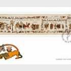 Final Panel of the Bayeux Tapestry- (FDC M/S)