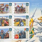 950 Years: Battle of Hastings (Souvenir Sheet and Pack Insert)