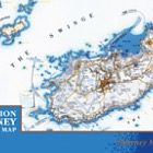 1st Edition Alderney and Burhou Map (PP-MS)