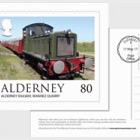 Alderney Scenes- FDI 80p postcard (ROW)