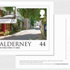 Alderney Scenes- Maxi 44p postcard (GY)
