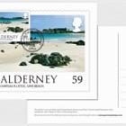 Alderney Scenes- Maxi 59p postcard (UK)