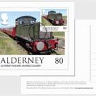 Alderney Scenes- Maxi 80p postcard (ROW)