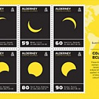 Alderney Coastal Eclipses Minisheet Pack Insert