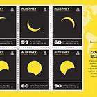 Alderney Coastal Eclipses Minisheet Pack Insert