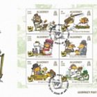 50th Anniversary of The Wombles - (FDC M/S)