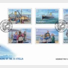 120 Years - The Sinking of the SS Stella - FDC Set