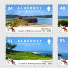 25 Years Of Alderney Stamps