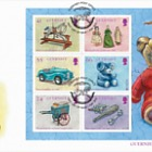 Europa 2015 - Old Toys (SS-FDC)