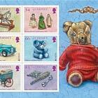 Europa 2015 - Old Toys (Souvenir Sheet Pack Insert)