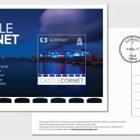 Europa 2017 - Castles (FDI Postcard UK Europa stamp 73p)