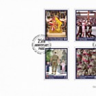 25 Years Princess of Wales's Royal Regiment - (FDC Set)