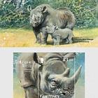 Specie in via di Estinzione - Il Rinoceronte Nero