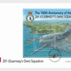 RAF 100 - 201 (Guernsey's Own) Squadron - (FDC M/S)