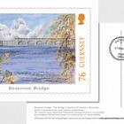 Europa 2018 - Bridges - (FDI 76p Postcard - EUR)