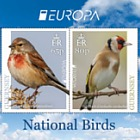 Europa 2019 - National Birds - Europa Mini Sheet (65p & 80p)