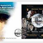 50th Anniversary of the Moon Landings - FDC M/S