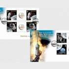 50th Anniversary of the Moon Landings - FDC Gutter Pairs