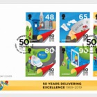 50th Anniversary - Postal Independence - FDC Set
