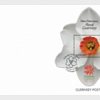 Floral Guernsey (FDC M/S)