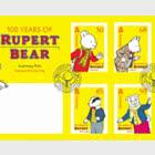100th Anniversary of Rupert Bear - FDC Set