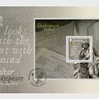 Shakespeare 450th Anniversary - (FDC M/S)
