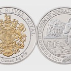 Silver Royal Coin - Gold Crest