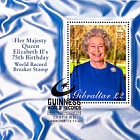 Guinness World record for HM QEII Postmarked