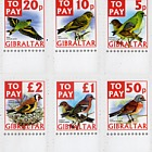 To Pay Labels 2002 - Birds