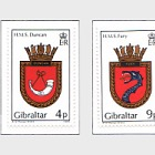 1985 Naval Crests Series IV (catalogue price)