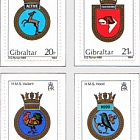 1984 Naval Crests Series III (catalogue price)
