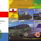 Joint Issue Gibraltar - San Marino