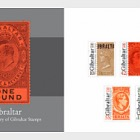 125th Ann of Gib Stamps