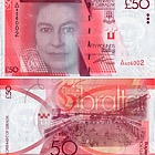 2010 £50 Banknote