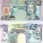 2000 £5 Banconota