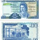 1986 £10 Banconota