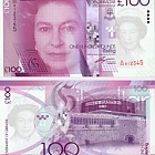 2011 £100 Banknote