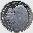 Silver Sir Francis Drake - Explorers