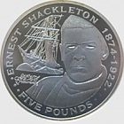 Silver Ernest Shackleton - Explorers