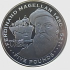 Silver Ferdinand Magellan - Explorers
