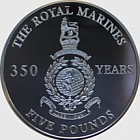 Royal Marine 350th Anniversary - Silver Coin