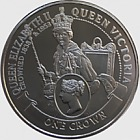 Coronation of Queen Elizabeth - William Wyon One Crown