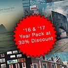 Spring Offer - 30% Discount on the 2017 & 2016 Year Packs