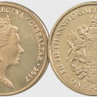 £1 Coin - Referendum 50th Ann
