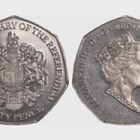 50p Coin - Referendum 50th Ann