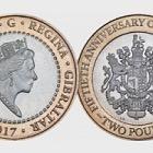 Moneda de £ 2 - Referéndum 50 Aniversario