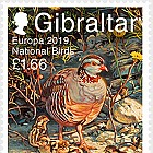 Europa 2019 - National Birds - Mint